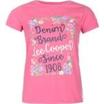Tričko Lee Cooper Floral dám.