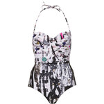 Topshop Multicoloured Punk One Piece