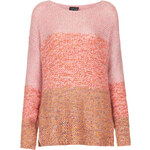 Topshop Knitted Ombre Stitch Jumper