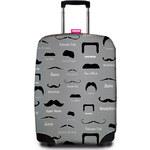 Suitsuit Obal na kufr 9068 Famous Moustache