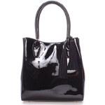 Dámská společenská černá kabelka - LYDC Angelika černá
