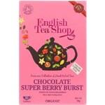 Ovocný čaj English Tea Shop Čokoláda a Super Ovoce Bio
