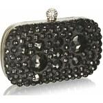 LS Fashion společenská kabelka LS0210 černá