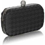 LS Fashion společenská kabelka LS0213 černá