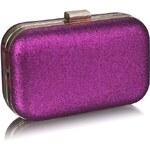 LS Fashion společenská kabelka LS0256 fialová