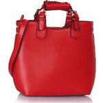 LS Fashion kabelka LS00267 červená