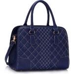 LS Fashion Kabelka LS00316 Vintage modrá