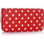 LS Fashion peněženka LSP1048 červená