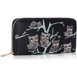 LS Fashion peněženka LSP1046 černá