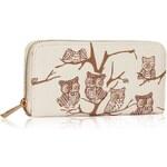 LS Fashion peněženka LSP1046 krémová