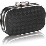 LS Fashion společenská kabelka LSE0036 černá