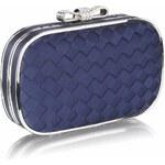 LS Fashion společenská kabelka LSE0036 modrá