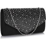 LS Fashion společenská kabelka LSE00299 černá