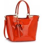 LS Fashion Kabelka LS00348 oranžová