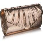 LS Fashion společenská kabelka LSE0068 ivory