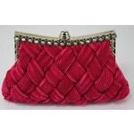 LS Fashion společenská kabelka LSE079 růžová