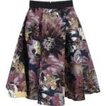 Barevná vzorovaná sukně Closet