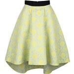 Modro-žlutá sukně se vzorem Closet