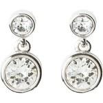 Karen Millen Boucles d'oreilles silvercoloured/crystal