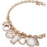GUESS náhrdelník Gold-tone Enamel Plates N139809 C4DS
