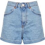 Topshop MOTO Bleach Shorts