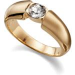 Oliver Weber Prsten Solitaire Gold 41001