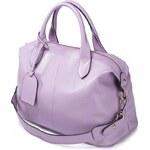 NUCELLE dámská kožená kabelka Mia fialová