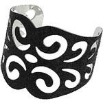 Topshop Glitter Swirl Cuff Bracelet