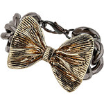 Topshop Bow Chain Bracelet