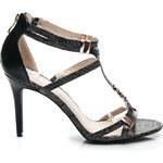 POTI PATI Unikátní černé dámské sandále 39