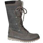 TAMARIS 26247-23 taupe comb, dámská zimní obuv, dámská obuv
