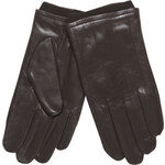 Baťa Pánské kožené rukavice s úpletem