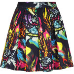 Topshop **Printed Scuba Skater Skirt by Oh My Love