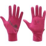 Běžecké rukavice Karrimor dám. růžová