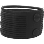 Kožený náramek Wildskin Stripes Black