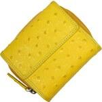 malá žlutá dámská peněženka 485 Giallo
