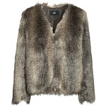 H&M Fake fur jacket