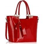 LS Fashion Kabelka LS00348 červená