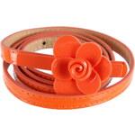 Dámský pásek s květem