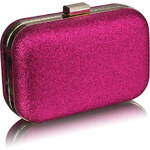 LS Fashion společenská kabelka LS0256 růžová