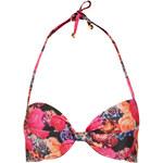Topshop Trailing Rose Bikini Top