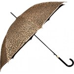 Doppler Dámský holový vystřelovací deštník Glitter Leo - zlatý 740865LO-2