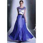 Dorisqueen Královsky modré šaty Zuhair Murad