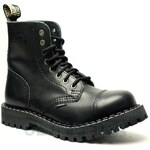 STEEL 8dírkové black, dámská a pánská obuv