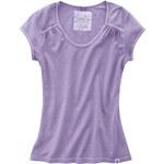 Hempage NANNI Dámské tričko z konopí a biobavlny - sv. fialová lila