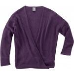 Hempage KIRSTEN dámský pletený svetr z konopí a biobavlny - fialová lilková