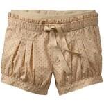 Gap Pull On Dot Khaki Bubble Shorts - Khaki