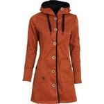 Softshellová bunda Woox Woolshell Button Orange dám.
