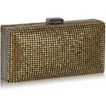 LS Fashion společenská kabelka LS0190 zlatá