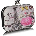 LS Fashion společenská kabelka LS0290 Paris